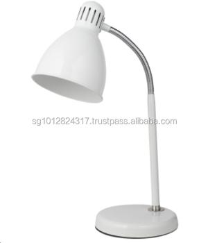 Classique Lecture Lampe De Bureau E27 Max 40 W Blanc Reglable Lampe