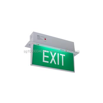 cheaper 0e244 c8e82 Singapore Samcom Recessed Emergency Exit Light - Buy Singapore Exit  Light,Samcom Recessed Exit Light,Emergency Exit Light Product on Alibaba.com