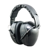 Dual color glossy attractive folding safety earmuffs