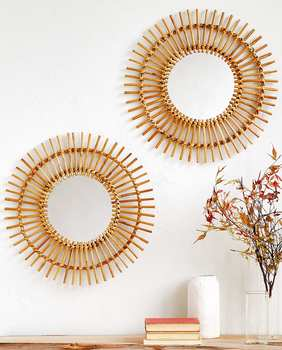 New style round mirrors decor wall/ wall mirrors home decor cheap price buying in large quantity
