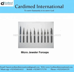 Micro Jeweler Forceps / Surgical Instrument / Sialkot Pakistan
