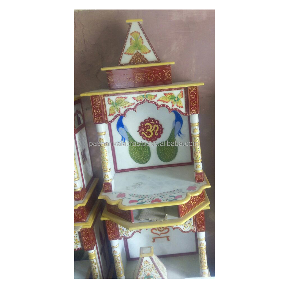 Colorful Marble Temple For Home Decoration Buy Indian Marble