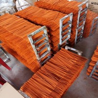 VIET NAM ORANGE INCENSE STICK BAMBOO STICK FOR INCENSE