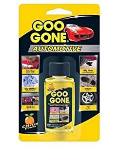 Goo Gone Automotive - Cleans Auto Interiors, Auto Bodies and Rims, Removes Bugs & Stickers - 1 Fl. Oz.