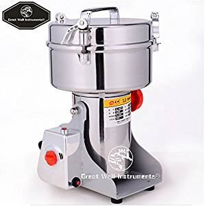 2000g electric grain grinder mill for Spice Herb Cereal grain Corn soybean wheat