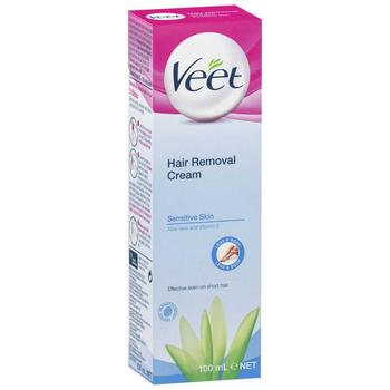 Veet Hair Removal Cream For Sensitive Skin 100 Ml View Veet Hair
