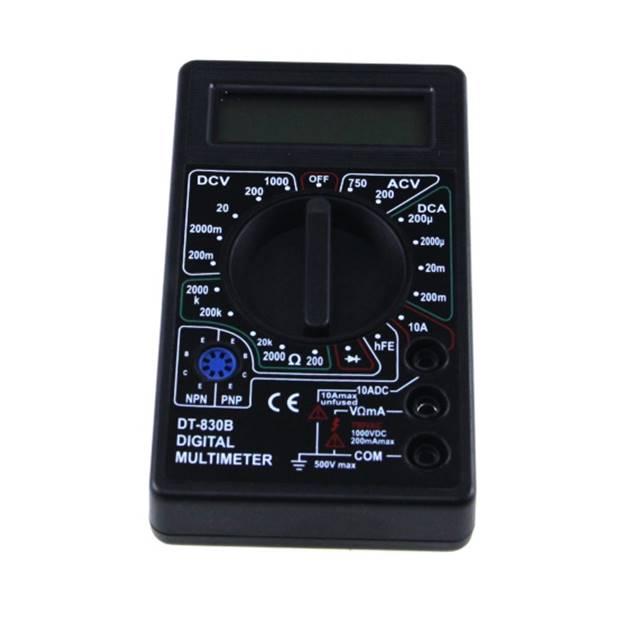 Display digitale Dc/Ac Corrente Elettrica Multimetro, Prezzo Basso Multimetro Digitale