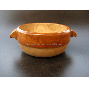 Least Price Kitchen Wooden Bowls with Handles
