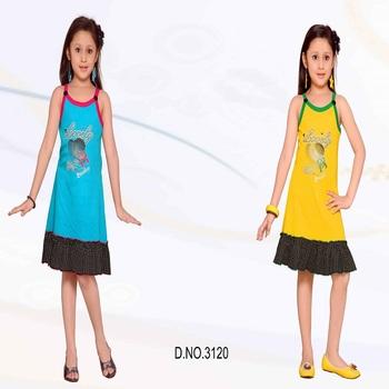 c4b7dc14f Sleeveless Western Design Frock Patterns - Buy New Design Girls ...