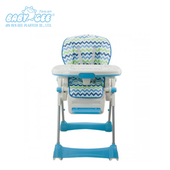 Safe Plastic Feeding Foldable High Chair Baby