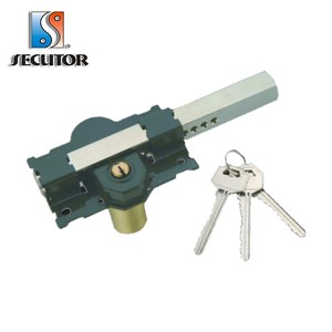 Manufacturer Rim Swing Gate Lock Key Deadbolt Lock Bar