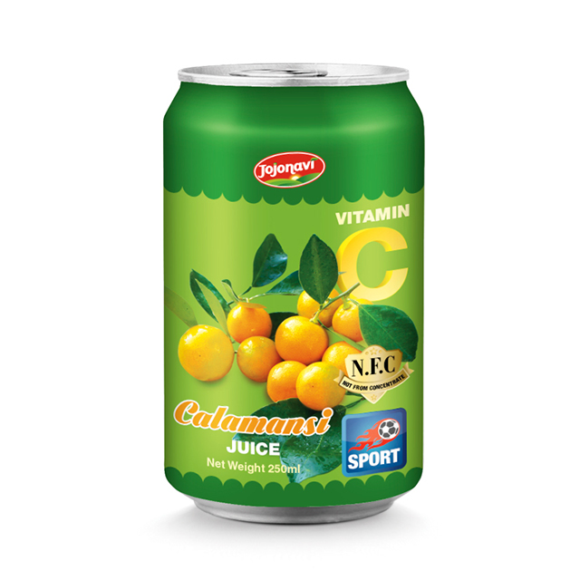 Natural Calamansi juice Fruit juice JOJONAVI beverage brand for alu can 330ml