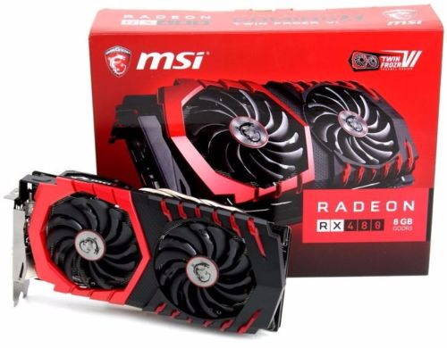 BUY 5 GET 3 FREE FOR NEW ORIGINAL SAPPHIRE AMD RADEON RX 480 RX 580 NITRO OC 8GB GDDR5 GRAPHICS VIDEO