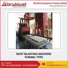 Fully Automatic Industrial Used Shot Blasting Machine for Sale