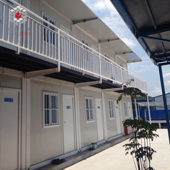 China Insulated demountable estate strong build real estate Practical simple container house design