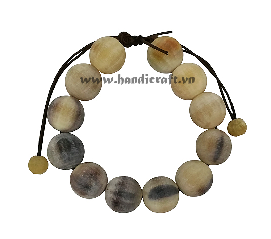 Natural horn bracelet for Buddhists HD00369