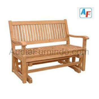 Teak Glider Bench Outdoor Furniture