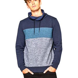 Men's Custom Design Hoodie Factory Direct Sale Pure Color Fleece Hoodie Made in Bangladesh
