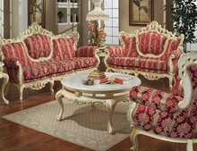 Turkey Style Royal Classic Mahogany Sofa Set Living Room Furniture