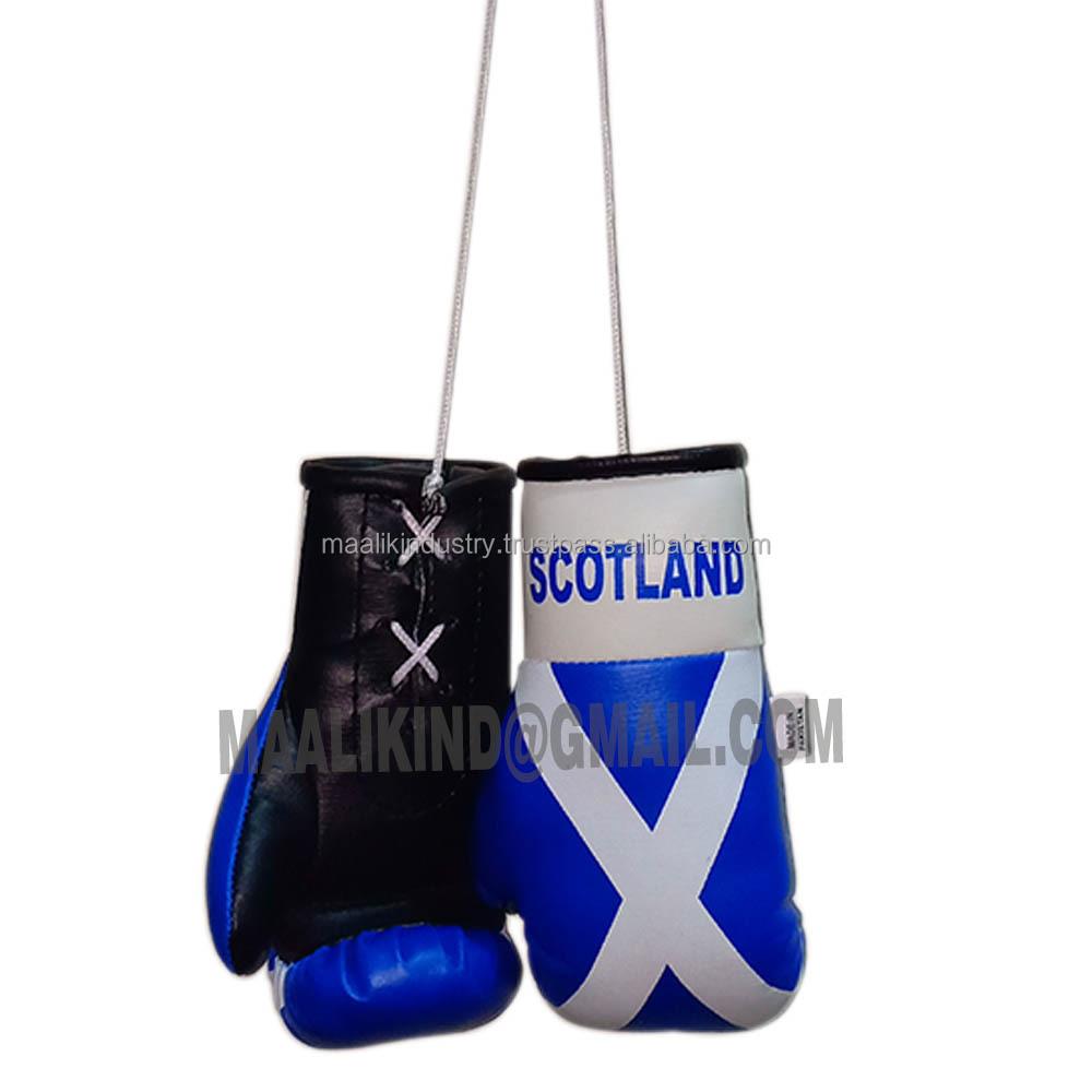 SCOTLAND SCOTTISH FLAG Mini Boxing Gloves