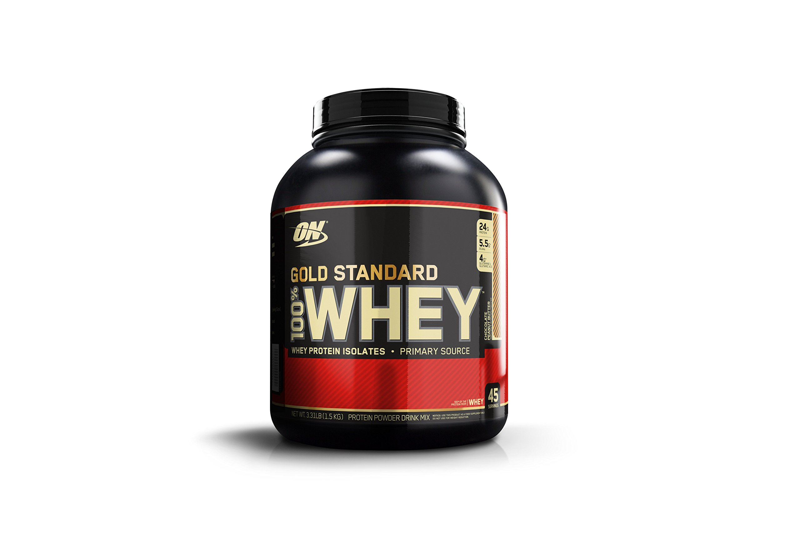 Optimum Nutrition Gold Standard 100% Whey Protein Powder, Chocolate Peanut Butter, 3.31 Pound