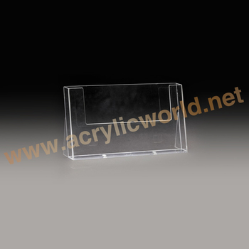 Brochure holder or acrylic sign holder with business card pocket brochure holder or acrylic sign holder with business card pocketacrylic display stand colourmoves