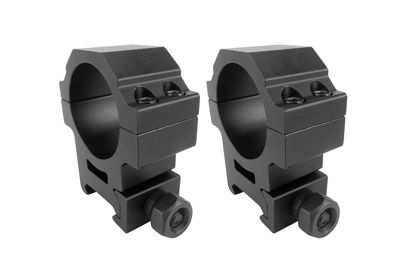 Monstrum Tactical Heavy Duty High Performance Scope Rings | Picatinny | 30mm Diameter | Medium Profile