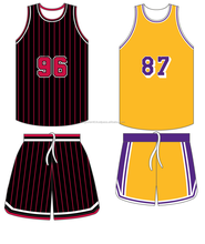 Fully Customized basketball Uniform Sublimation and tackle twill