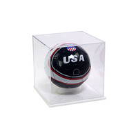 fashion wholesale small acrylic Golf Ball Cube Display