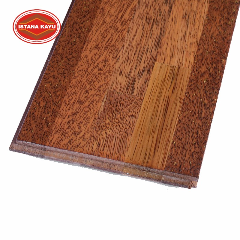 Best Product Indonesian Mahogany Wooden Flooring for Luxury Home Decor Furniture