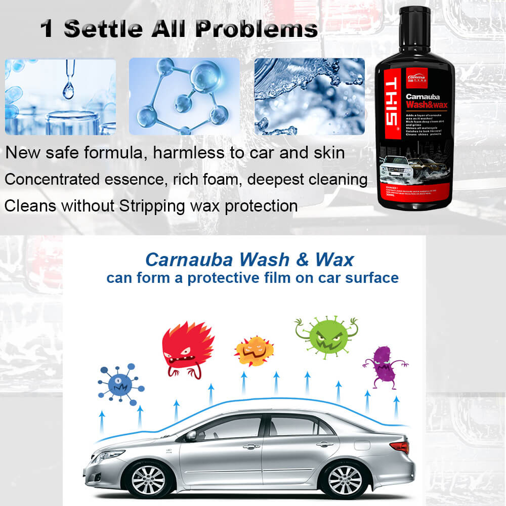 car accessories cleaning chemical soap car snow foam auto wash shampoo car wash and wax