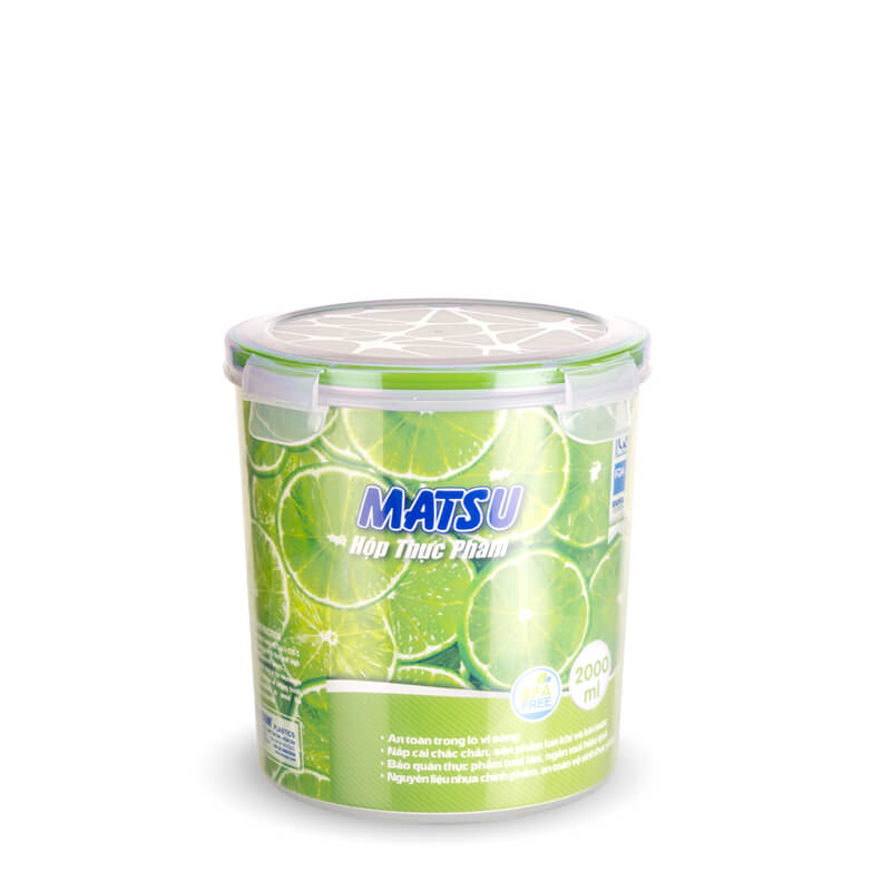 PP food round container Duy Tan Plastic in Vietnam