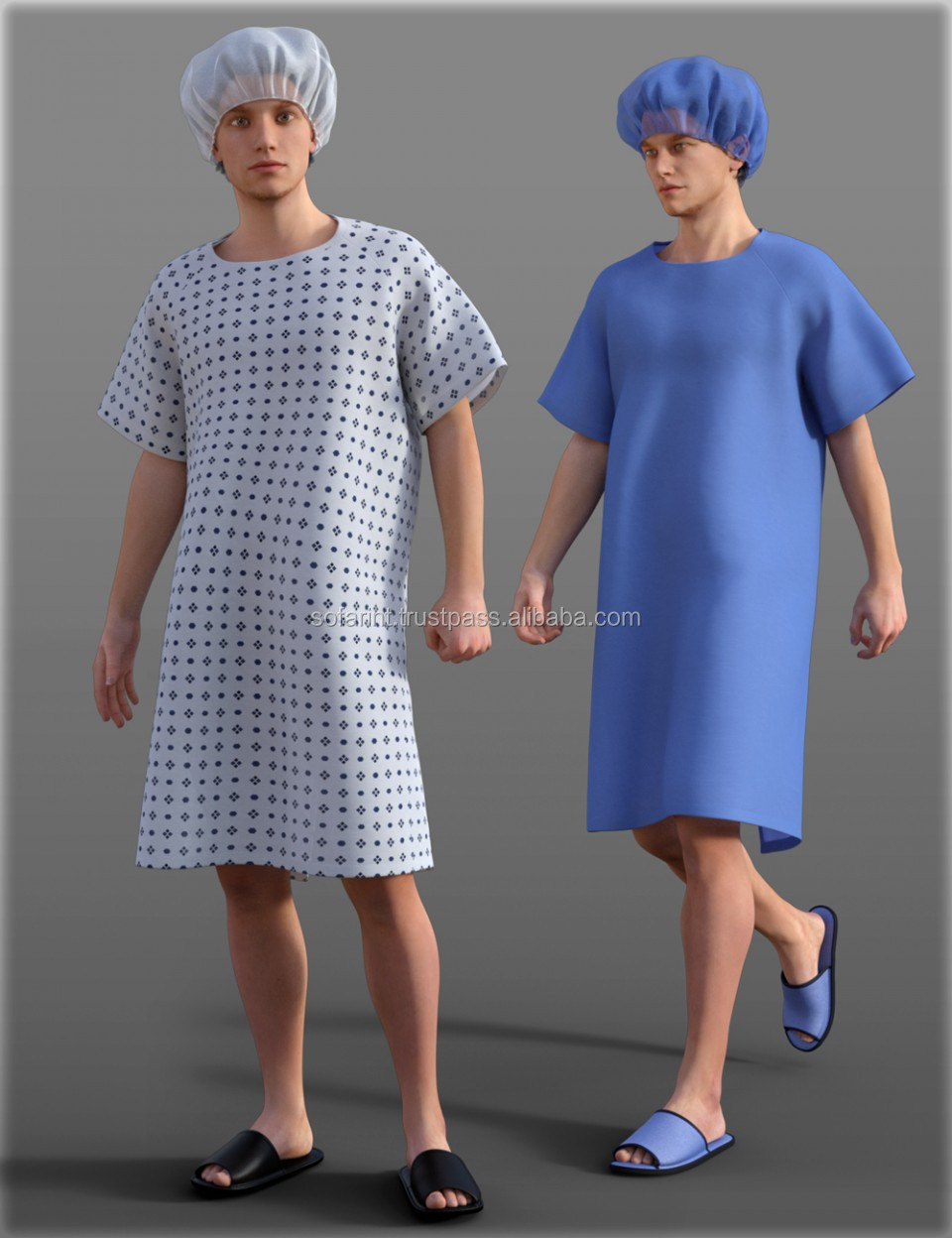 Operation Gown   Hospital Working Clothing   Doctor Scrub   Medical Uniform