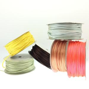 Colorful nylon plain string for DIY wrapping
