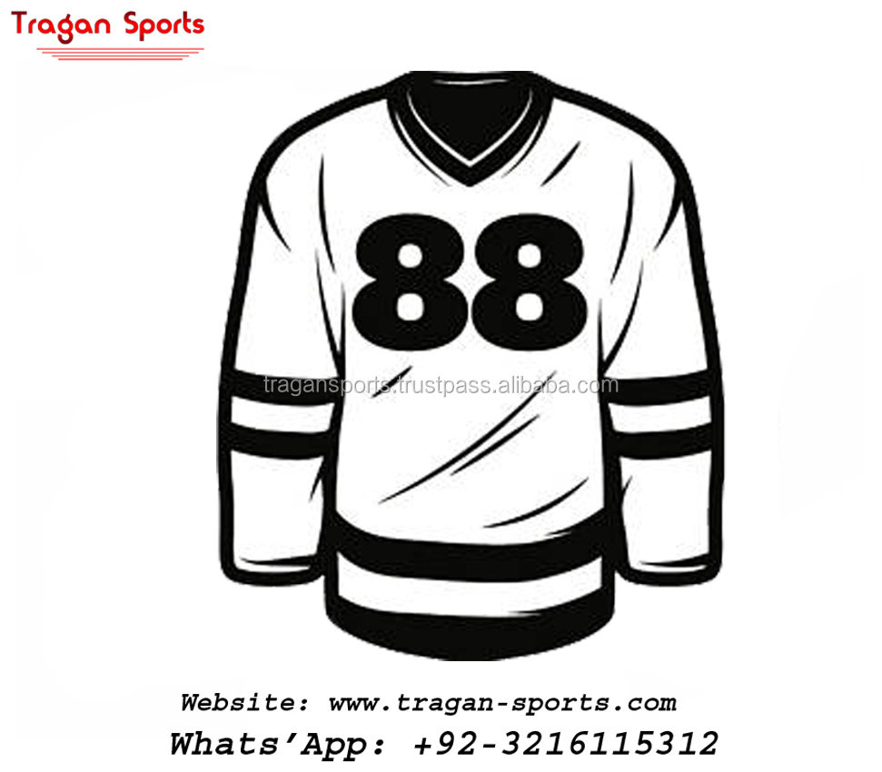 EISHOCKEY UNIFORMS 100% POLYESTERMATERIAL KUNDENSPEZIFISCHER HOCKEY JERSEYS UNIFORMS