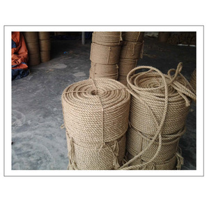 The most competitive price 100% Recyclable Packaging Twisted Jute Rope