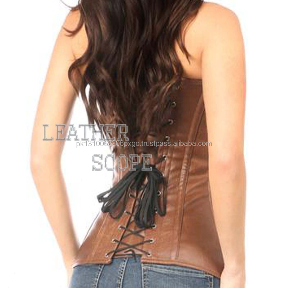0d4ddd00ed9 Pakistan Leather Corset Tops