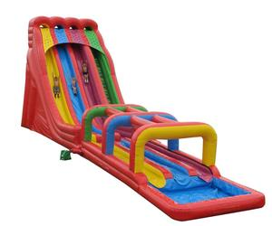 Inflatables swimming pool slide giant inflatable water slide for sale