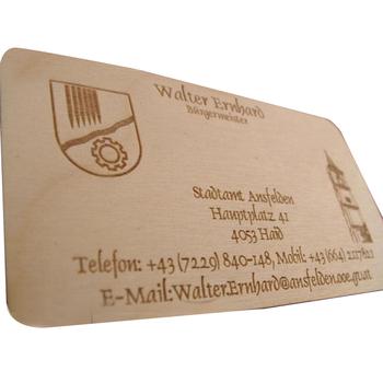 Engravedflexible wood veneer business card for wood experts buy engraved flexible wood veneer business card for wood experts colourmoves