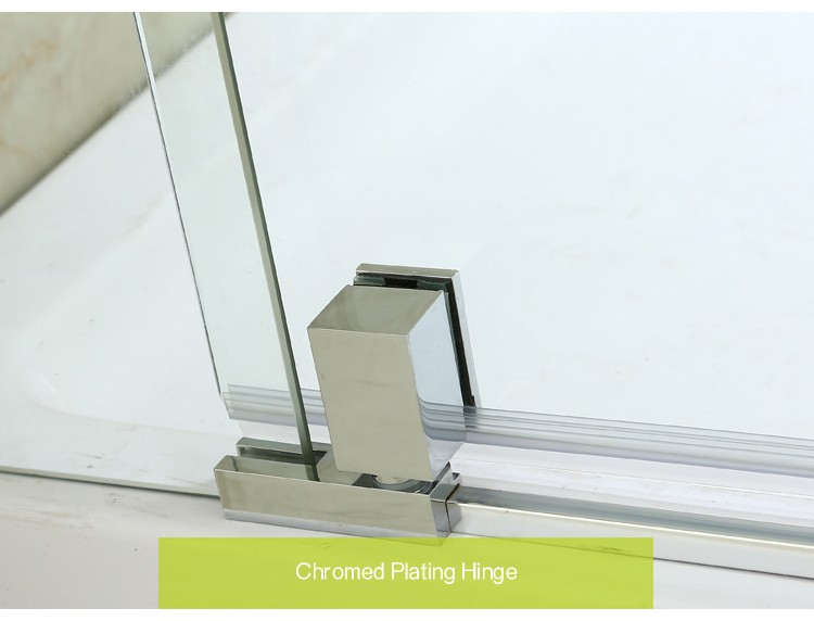 American Wood Structure House Bathroom Single Pivot Shower