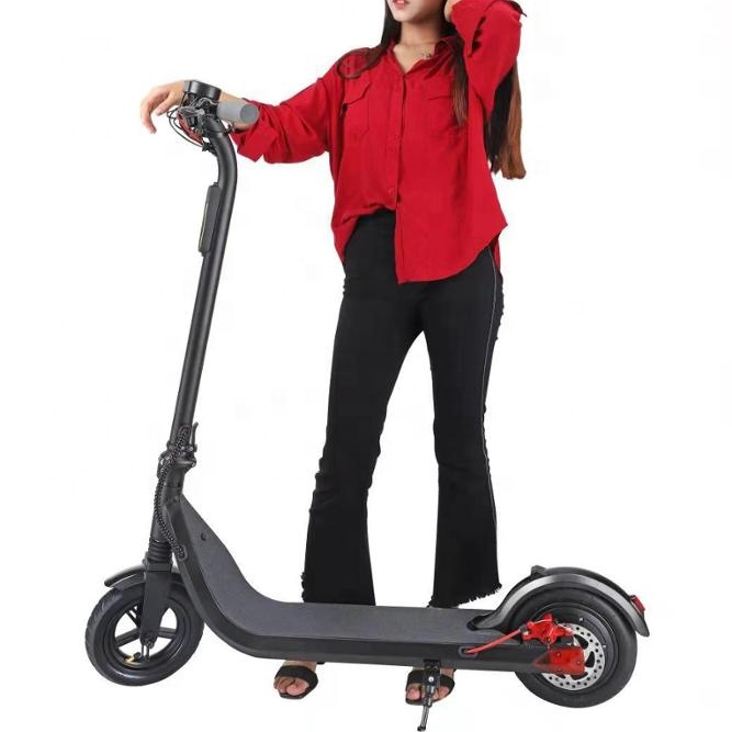 Smart Electric Scooter Two Wheels Lightweight Kick Scooter Foldable Scooter 8.8ah Battery with Light