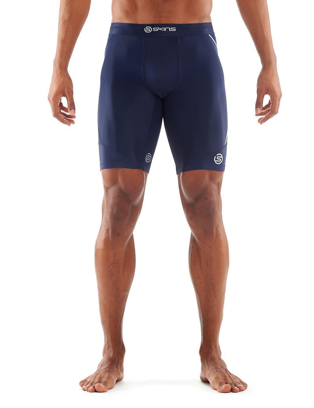 ad7bd7228b95d Get Quotations · SKINS Mens DNAmic Men's Compression Half Tights/Shorts