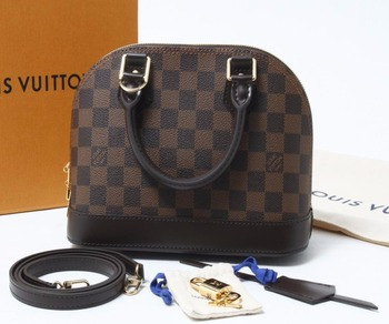 f6fa4645114f Used brand Handbag LOUIS VUITTON M41221 ALMA Damier Shoulder bags for bulk  sale.
