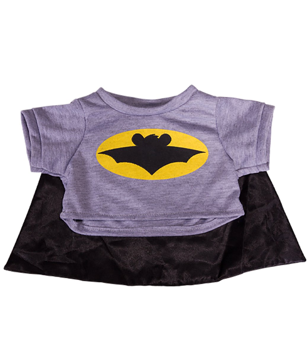2e87c9108eb Get Quotations · Bat Bear T-Shirt With Cape Teddy Bear Clothes Fits Most 8