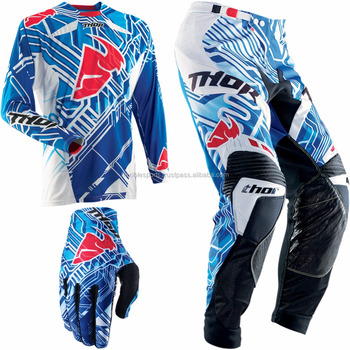 Win Race With Custom Mx Jersey Pants Motocross Dirt Bike Gear Set