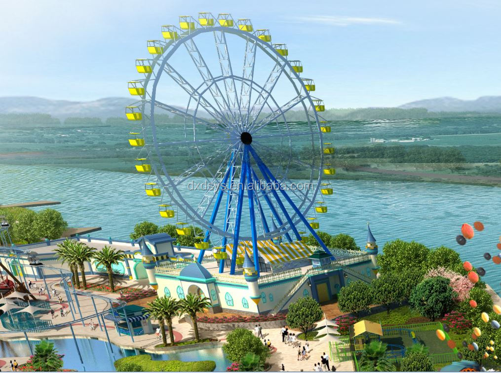 Ferris Wheel Decoration for outdoor theme park
