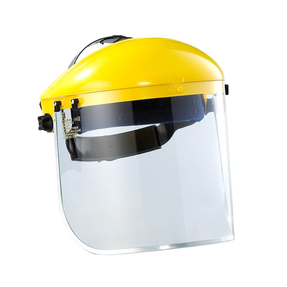 Taiwan Manufacturer Heat Resistance Safety Protective Full Transparent Industrial Face Shield Mask -1