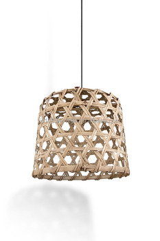 Bamboo Pendant Lamp Shade - Custom Design Available - Wholesale ...