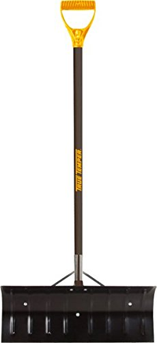 True Temper 24-Inch Steel Blade Snow Pusher - 1639300