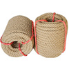 Wholesale Custom Eco-Friendly 100% Natural Jute Braided Hemp Rope from Bangladesh 18 MM 20 MM 22 MM